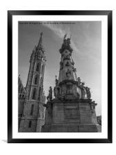 Matthias Church., Framed Mounted Print