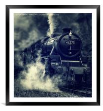 The Mail Train, Framed Mounted Print