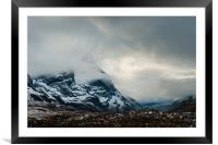 The Mists of Glen Coe, Framed Mounted Print