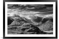 Shrouded Hills, Framed Mounted Print