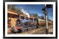 Steam Locomotive 1054 - the LNWR Coal Tank, Framed Mounted Print