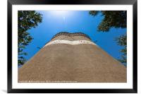Dovecote, Framed Mounted Print
