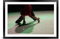 Tango, Framed Mounted Print