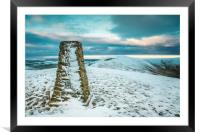 MAM TOR SUMMIT, Framed Mounted Print