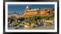 NEW BRIGHTON SEAFRONT, Framed Mounted Print