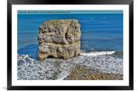 Marsden Rock, Framed Mounted Print