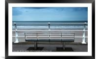 The Seafront at Aberavon south Wales, Framed Mounted Print