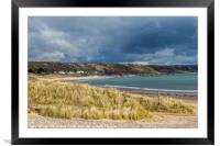 Port Eynon Beach Gower Peninsula South Wales, Framed Mounted Print