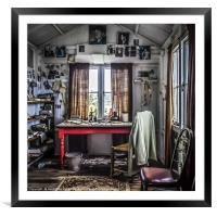 The Writing Shed, Framed Mounted Print