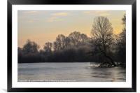 Winter wonderland 2, Framed Mounted Print