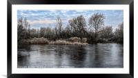 Winter wonderland 5, Framed Mounted Print