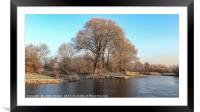 Winter wonderland 8, Framed Mounted Print