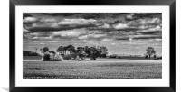 Kentish Sky, Framed Mounted Print