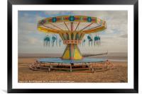 Cleethorpes Beach, Framed Mounted Print