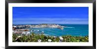 St Ives Bay, Framed Mounted Print