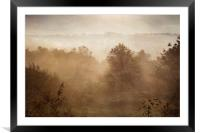 Autumn Mists, Framed Mounted Print