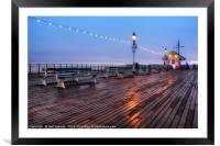 Penarth Pier, Framed Mounted Print