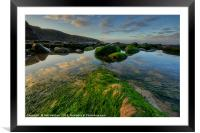 Dunraven Bay , Framed Mounted Print