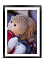 old doll, Framed Mounted Print