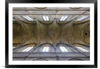 Church Ceiling, Framed Mounted Print