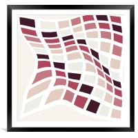 Abstract colorful pattern  , Framed Mounted Print