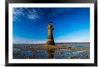 The Iron Lighthouse, Framed Mounted Print
