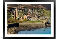 Porth Wen Brickworks, Anglesey., Framed Mounted Print
