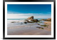 Broad Haven Beach, Pembrokeshire., Framed Mounted Print