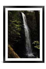 The Plodda Falls Glen Affric, Framed Mounted Print