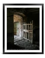 Abandoned Farmhouse, Tuscany, Framed Mounted Print