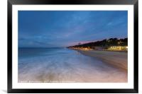 The View from Boscombe Pier, Framed Mounted Print
