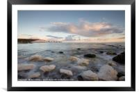 Seven Sisters Clouds, Framed Mounted Print
