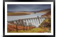 Craig Goch Snow and rainbow, Framed Mounted Print