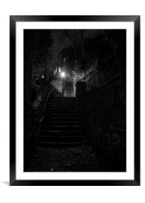 Gallon Steps Knaresborough, Yorkshire, Framed Mounted Print