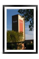 Campbells Water Tower, Framed Mounted Print