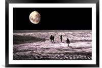 Moon Walkers, Framed Mounted Print