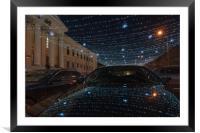Night`s light, Framed Mounted Print