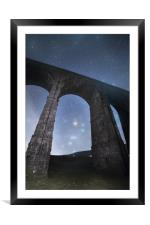 Orion from Ribblehead Viaduct, Framed Mounted Print
