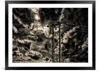 Power Source, Framed Mounted Print