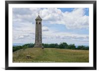 The Tyndale Monument, Framed Mounted Print
