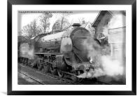 North Yorkshire Moors Railway #2, Framed Mounted Print