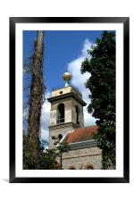 Church of St. Lawrence West Wycombe 5, Framed Mounted Print