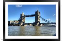 Tower Bridge 3, Framed Mounted Print
