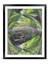 Deep in the woods, Framed Mounted Print