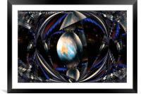 Which Earth is mine?, Framed Mounted Print