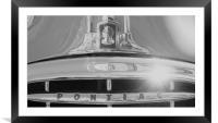 Pontiac in the sun, Framed Mounted Print