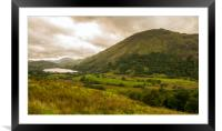 Snowdonia National Park , Framed Mounted Print