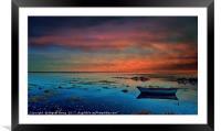 Algarve Secret Places - Ria Formosa - Portugal, Framed Mounted Print