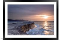 The Cobb First Light, Framed Mounted Print