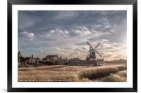 Cley next the Sea  Norfolk - A Bright Winters Day, Framed Mounted Print